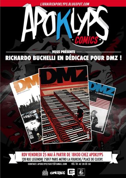 DMZ: Riccardo Burchielli en dédicace 27