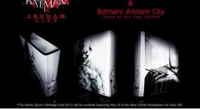 Une chance de remporter une Xbox360 custom Arkham City