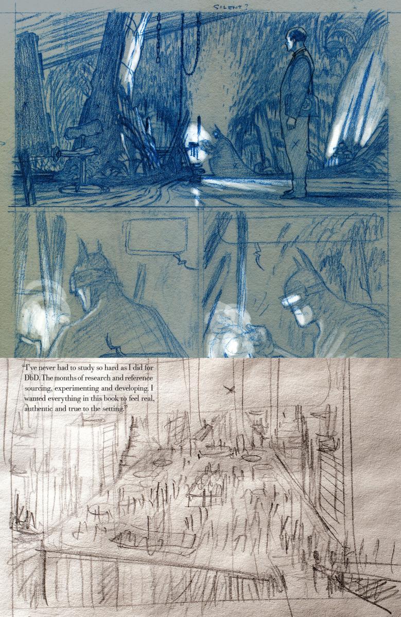 Batman: Death by design Sketchbook 27