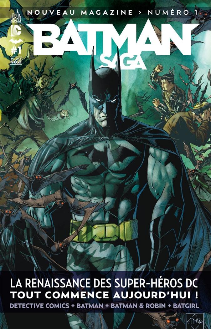 [REVIEW VF] Batman Saga #1 1