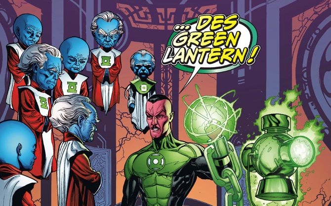 Review VF - Green Lantern Tome 1 : Sinestro 28