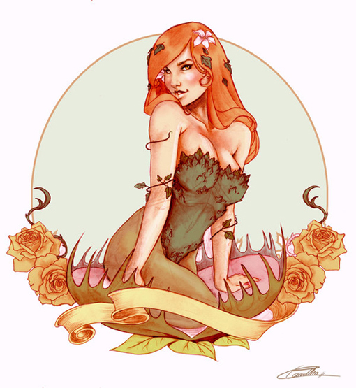 DC_Fan_Art_07_Carvalho_Poison_ivy