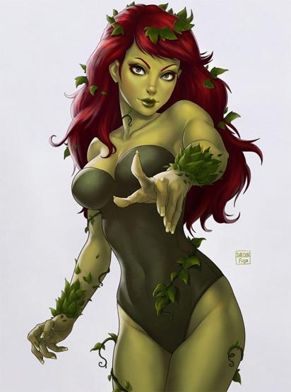 DC_Fan_Art_08_poison_ivy_by_dandonfuga-d56uzil