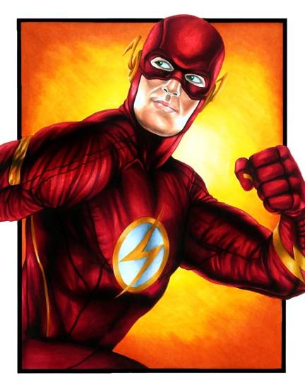 DC_Fan_Art_08_the_flash_by_smlshin-d56ykcp