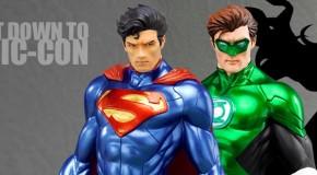 Les statues DC Comics New 52 ARTFX+