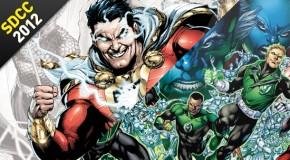 SDCC 2012 - Recap Panel Justice League & Green Lantern