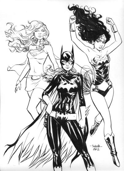 DC_Fan_Art_11_supergirl_batgirl_wonder_woman___inks_by_marciotakara-d59t21b