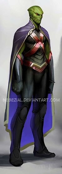 DC_Fan_Art_13_martian_manhunter
