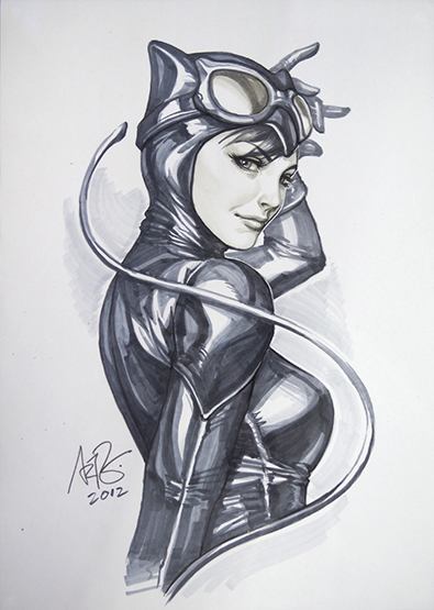 Dc fan arts 15 - Catwoman dessin ...