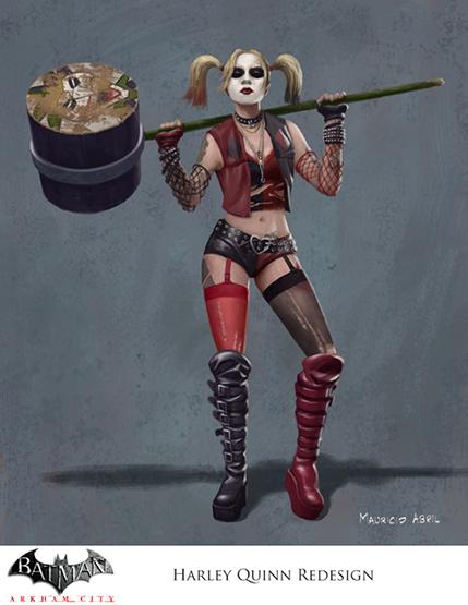 DC_Fan_Art_17_Harley Quinn REDesign flat