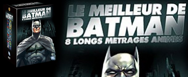 Le Meilleur de Batman, le coffret DVD collector