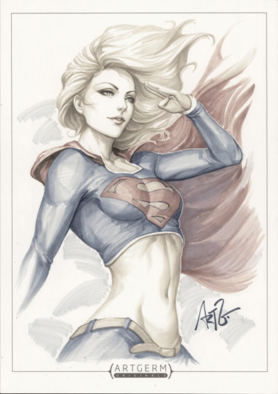 DC_Fan_Arts_23_Artgerm-Supergirl