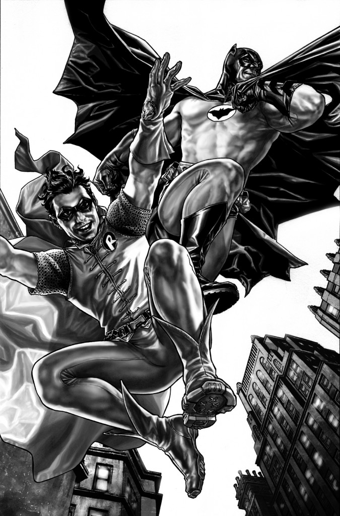 Batman Robin Noel