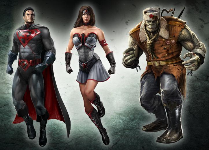 Injustice  Contenu du Collector Red SonRed Son Wonder Woman Injustice