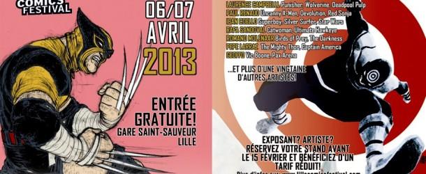 Le Lille Comics Festival les 6 et 7 Avril 2013