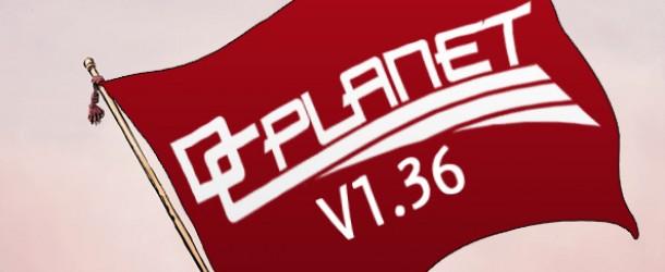 Mise à jour DC Planet 1.36