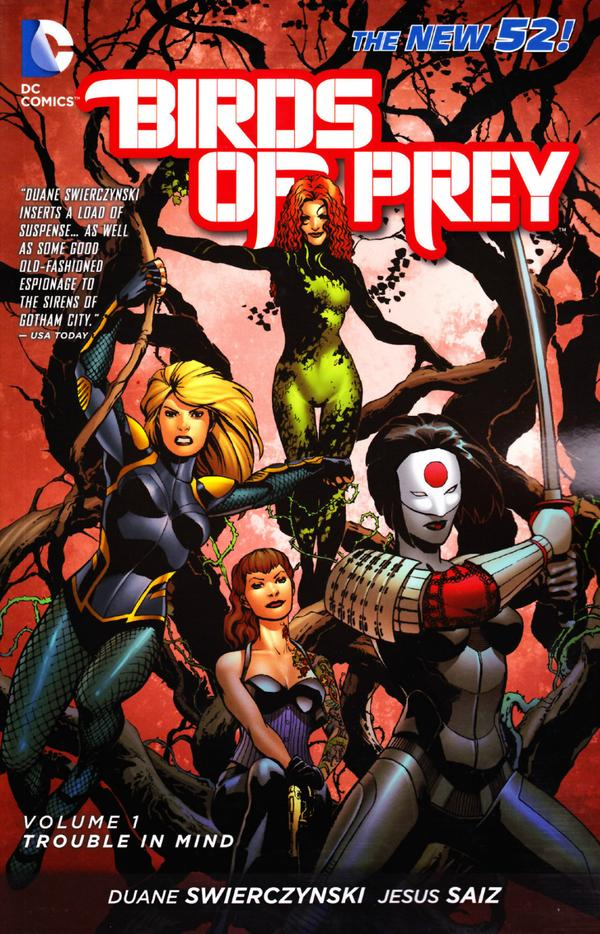 [Review VO] Birds of Prey Vol. 1 : Trouble in Mind 35