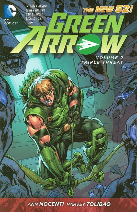 [Review VO] Green Arrow Vol. 2: Triple Threat 35