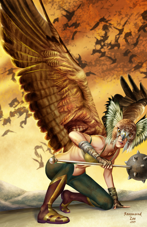 DC_Fan_Art_41_Hawkgirl