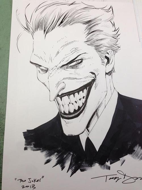Dc fan arts 50 - Le joker dessin ...