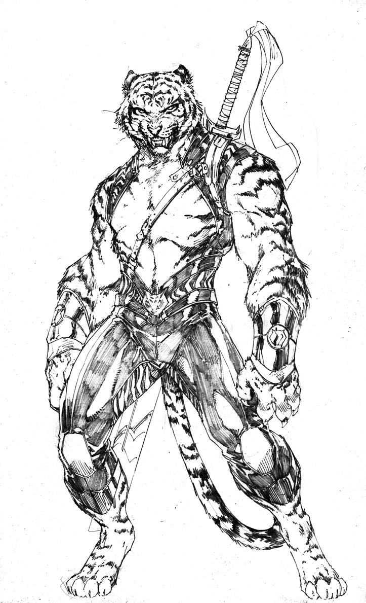 dc comics pr u00e9sente bronze tiger dans les new 52