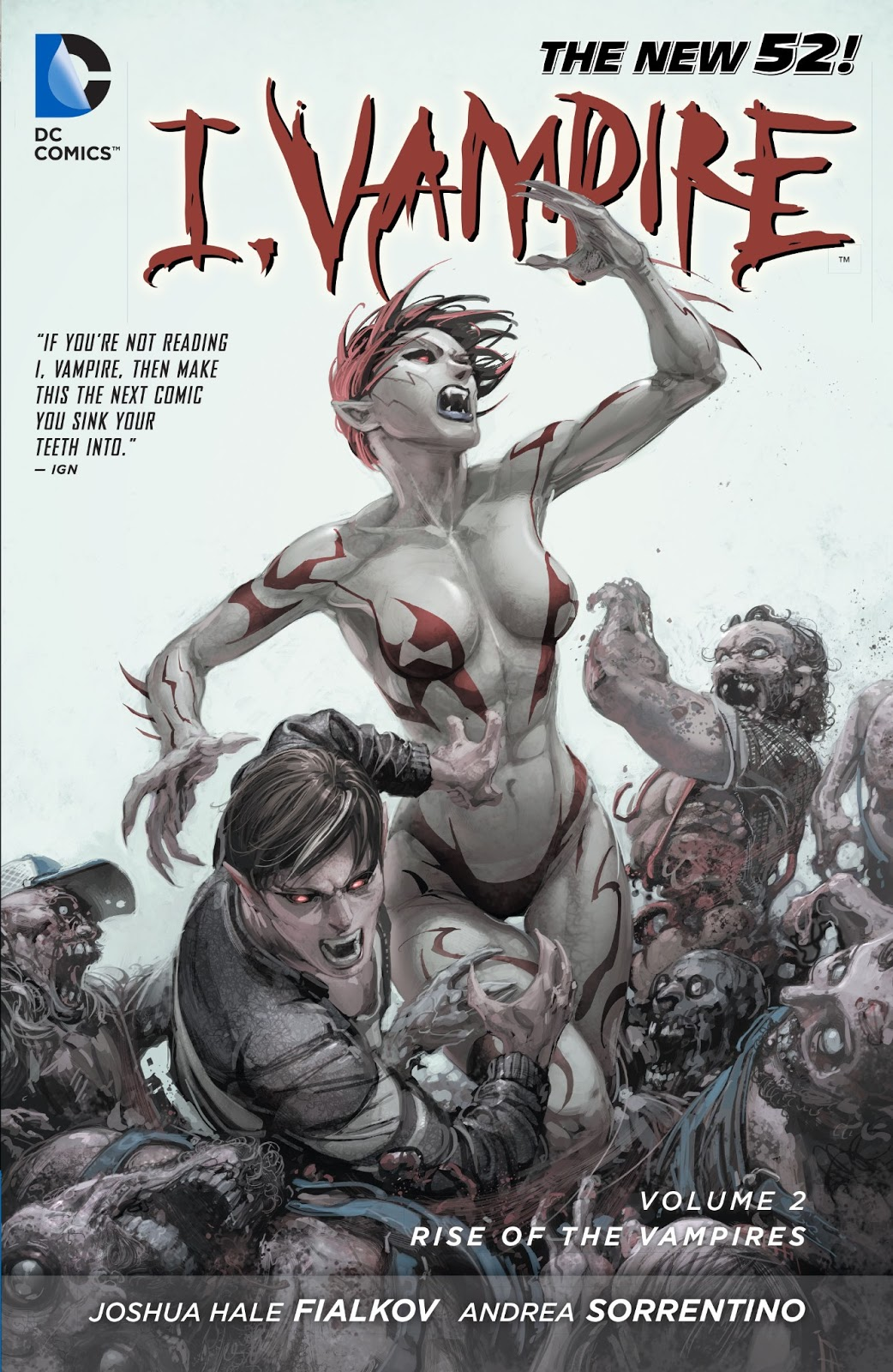 [Review VO] I, Vampire Vol. 2: Rise of the Vampires 36