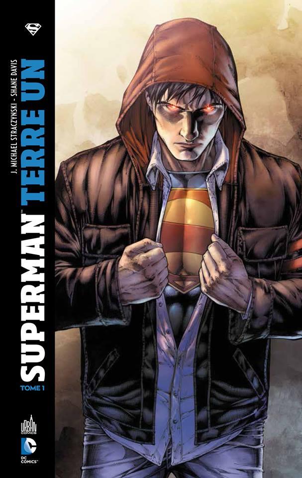 Superman Terre Un par JM Straczynski et Shane Davis Terre1-CV