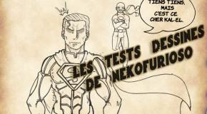 Le test dessiné d'Injustice : Les Dieux Sont Parmi Nous