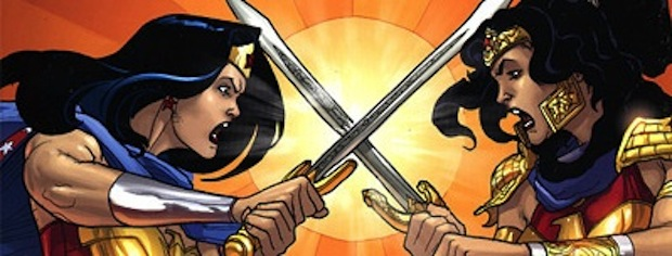 Wonder woman Amazons Attack !
