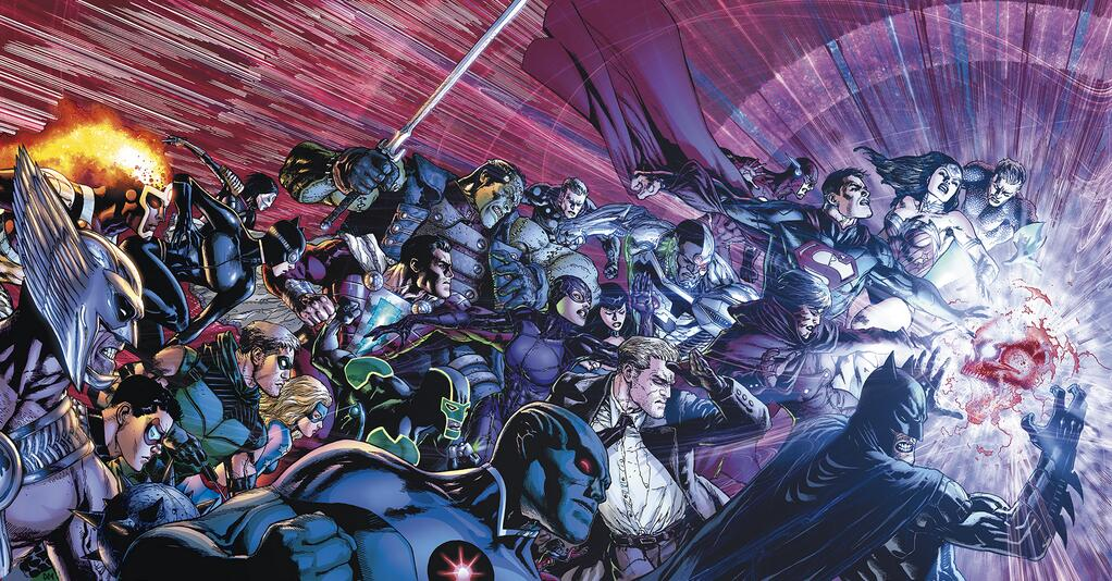 Justice league of america 7 review dans review Trinity-War-August