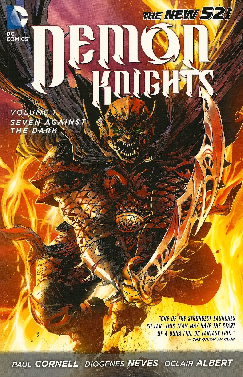 [Review VO] Demon Knights Vol. 1 36