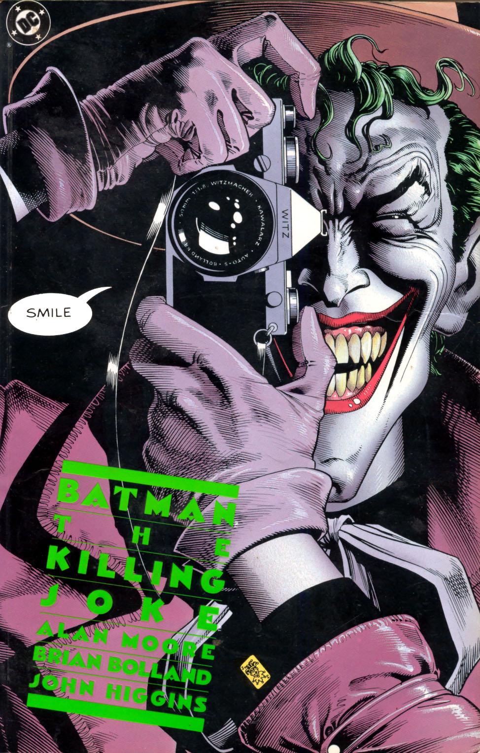 Critique de Batman The Killing Joke