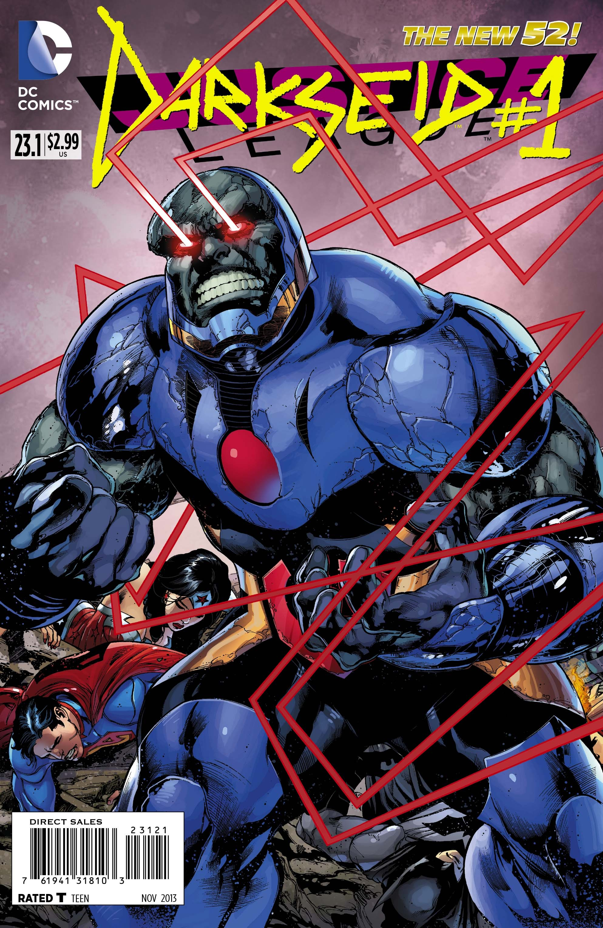 Justice League #23.1 - Darkseid review