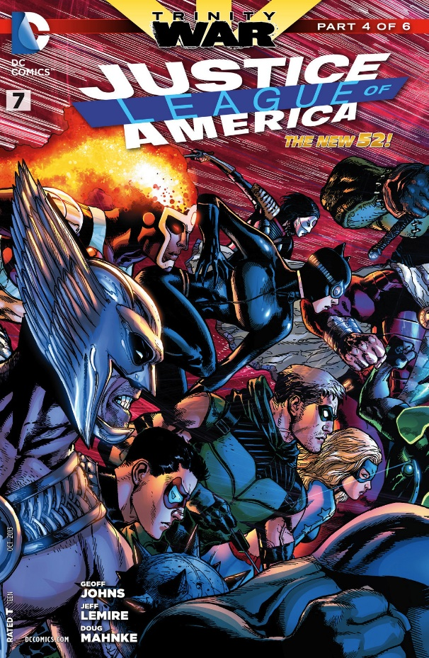 justice league of america #7 review