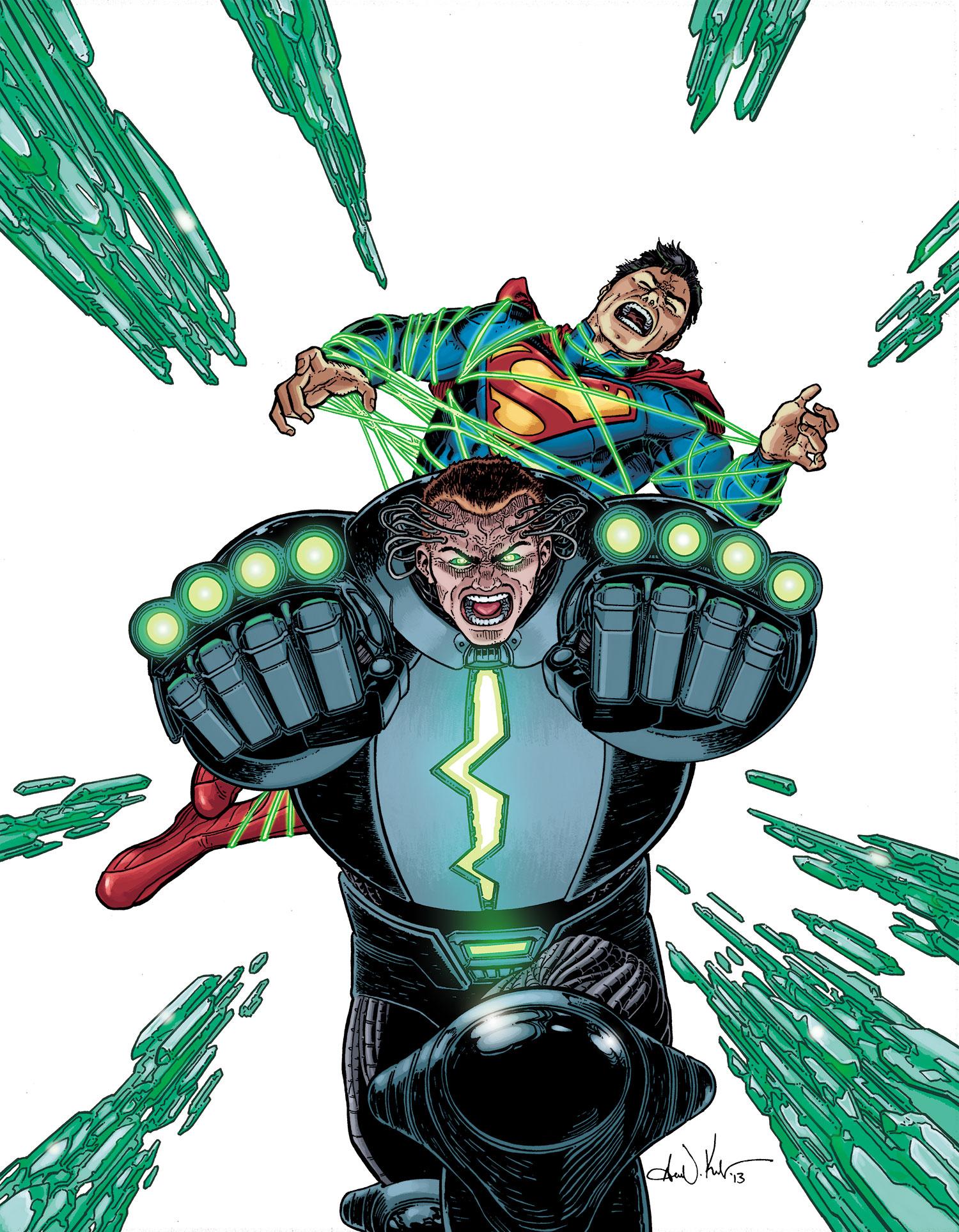 action Comics #23.4 : Metallo