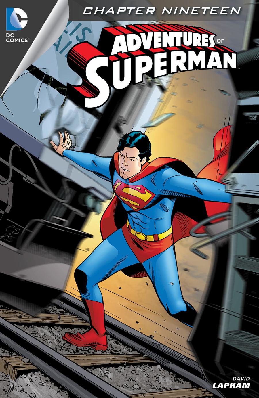 ADVENTURES OF SUPERMAN #19