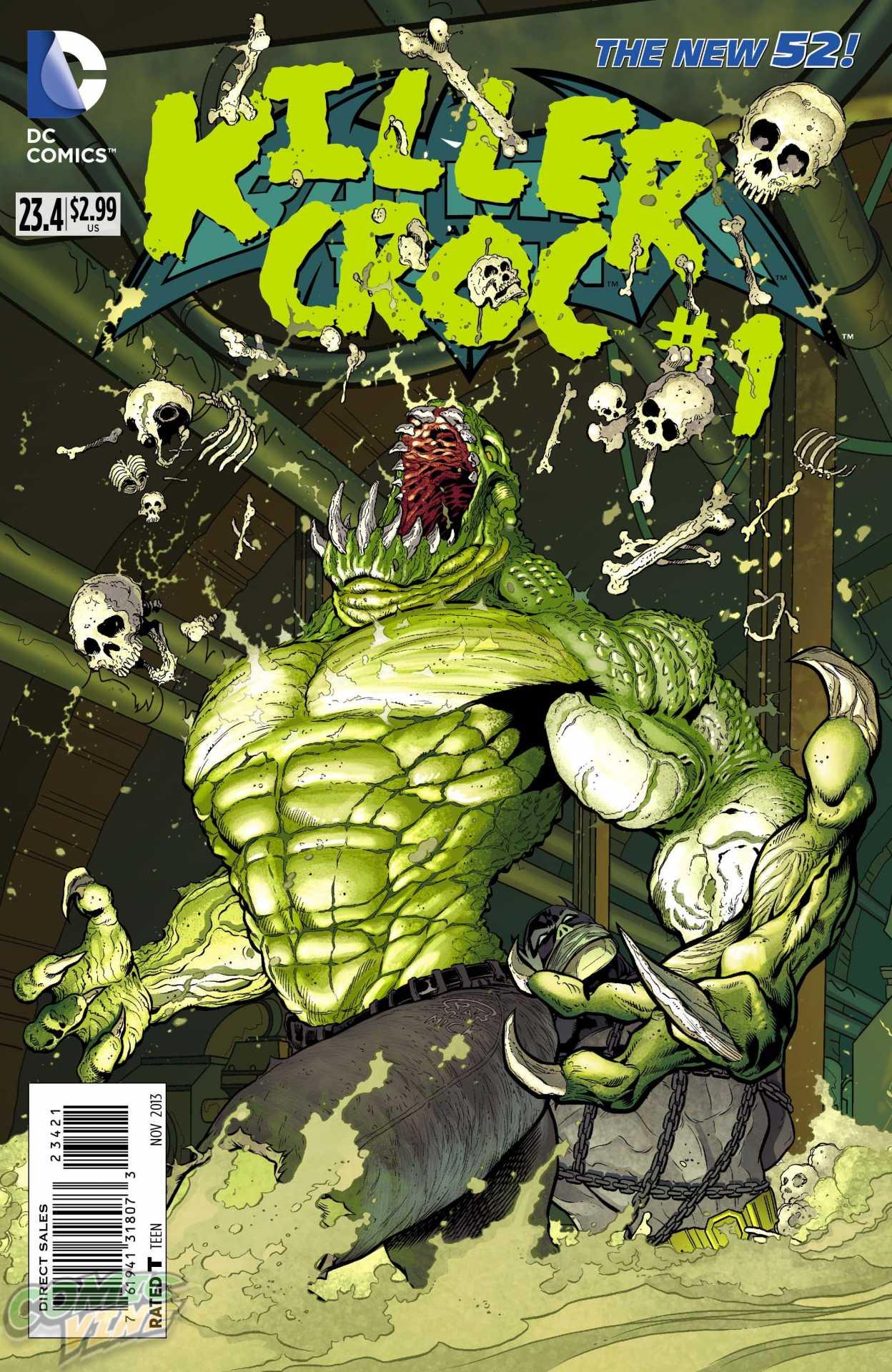 BATMAN AND ROBIN #23.4: KILLER CROC