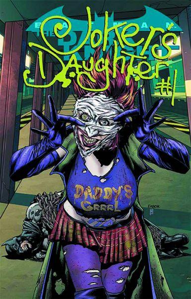 BATMAN: THE DARK KNIGHT #23.4: THE JOKER'S DAUGHTER