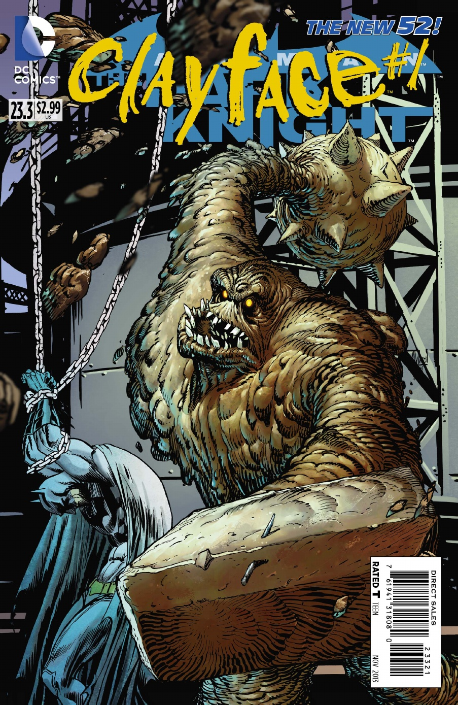 BATMAN: THE DARK KNIGHT #23.3: CLAYFACE