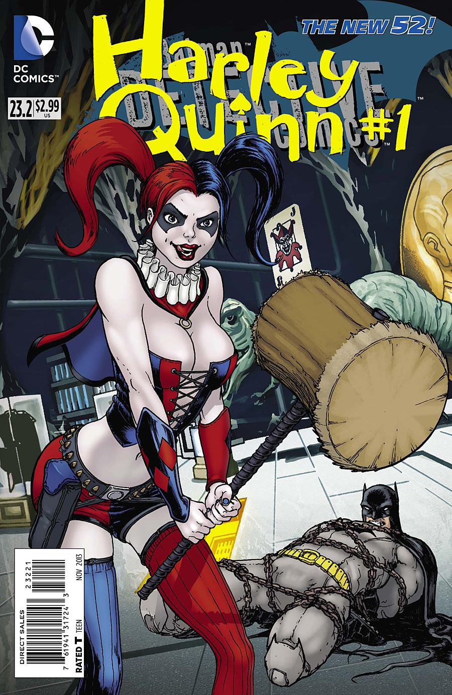 DETECTIVE COMICS #23.2: HARLEY QUINN