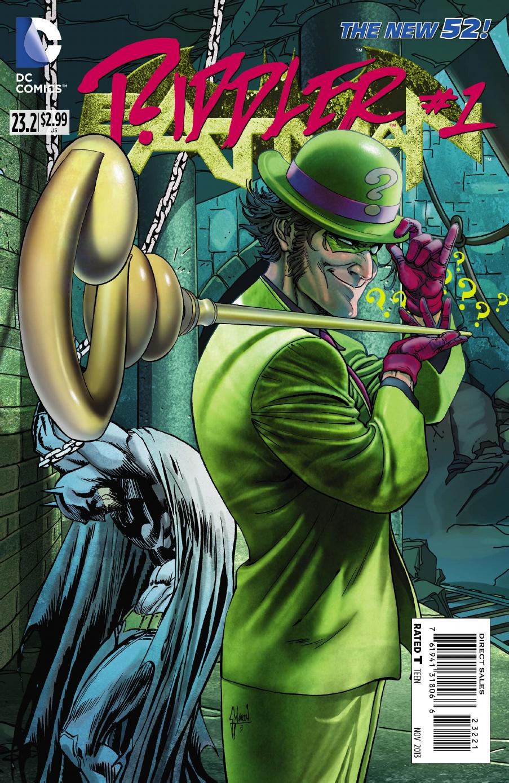 BATMAN #23.2: THE RIDDLER