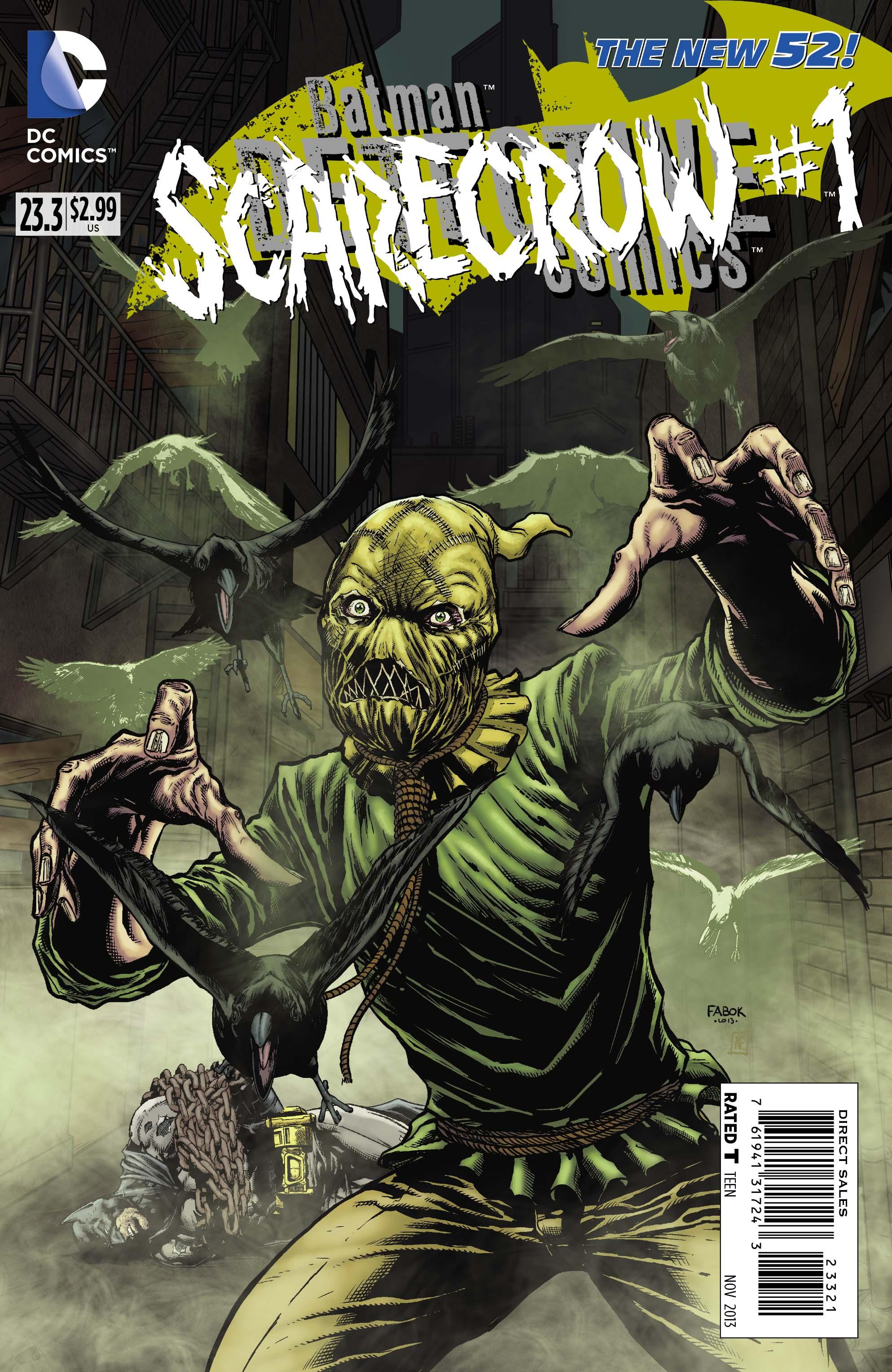 DETECTIVE COMICS #23.3: THE SCARECROW