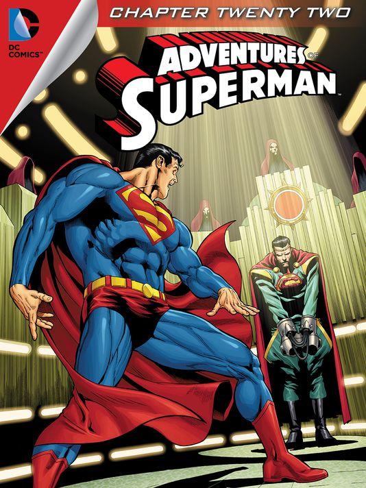 ADVENTURES OF SUPERMAN #22