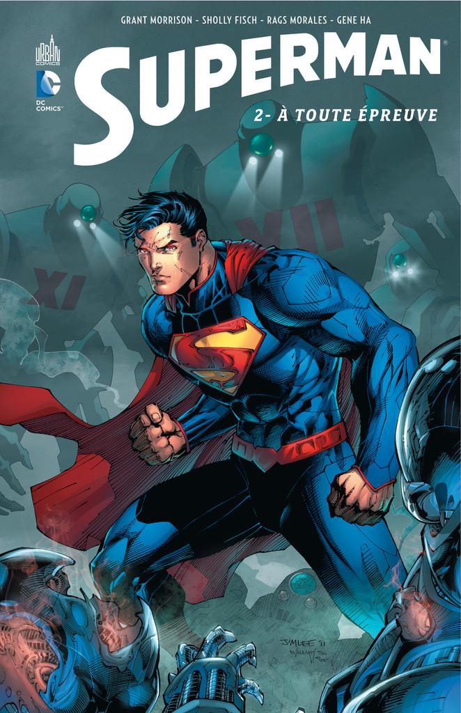 Critique Superman Tome 2 À Toute Épreuve