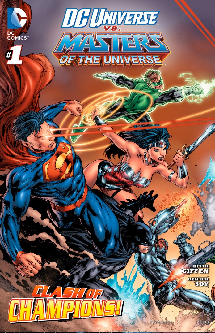 dc universe vs masters of the universe review #1 review