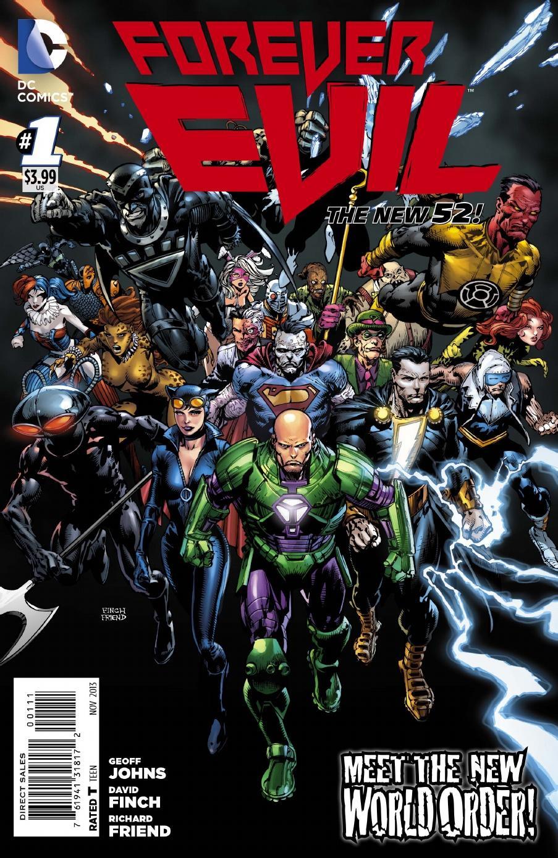 Critique de Forever Evil #1