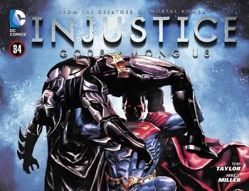 INJUSTICE GODS AMONG US #34