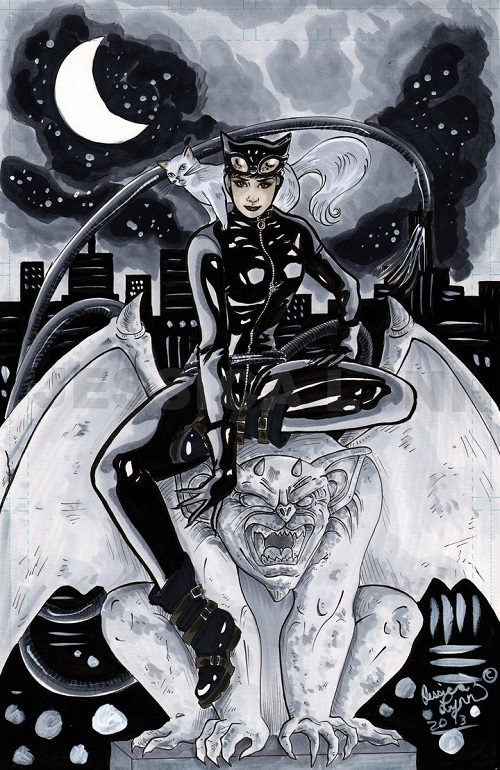 Dc fan arts 69 - Catwoman dessin ...