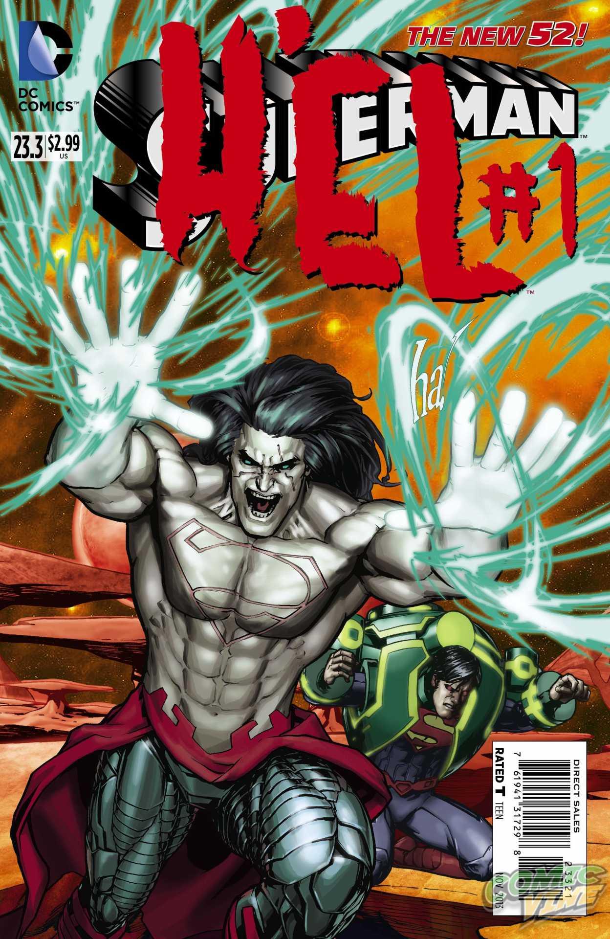 SUPERMAN #23.3: H'EL