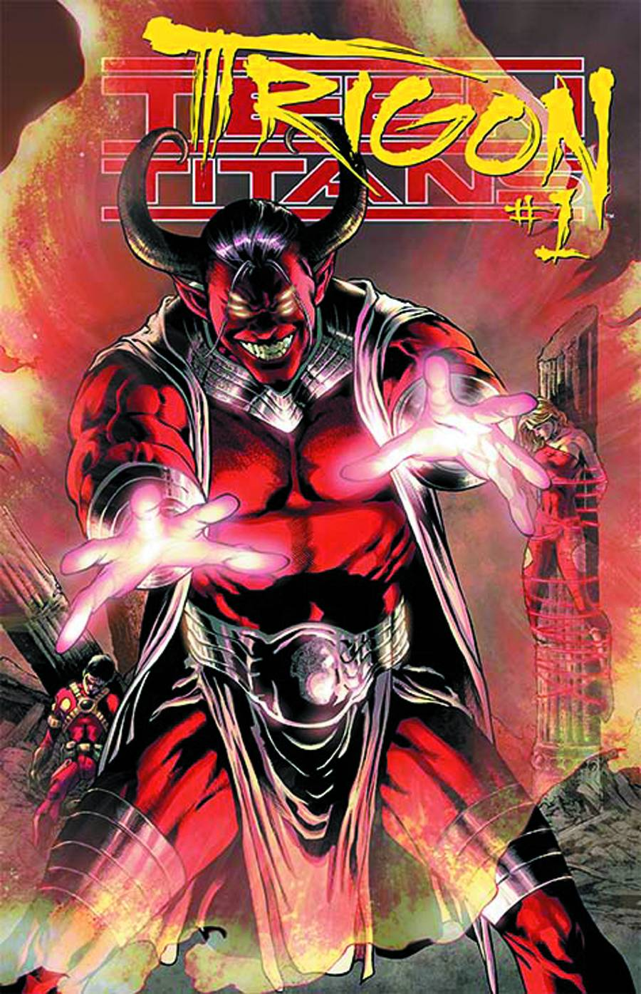 TEEN TITANS #23.1: TRIGON